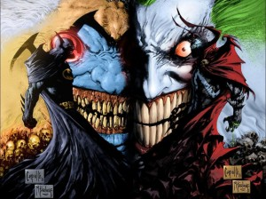 batman – spawn – violator – joker