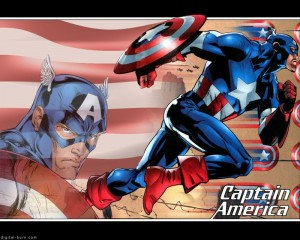 Captain America – Blonde Eyebrows