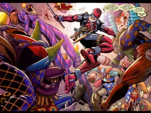 Deadpool Hates Clowns