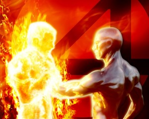 Fantastic Four 2 – Human Torch Vs Silver Surfer