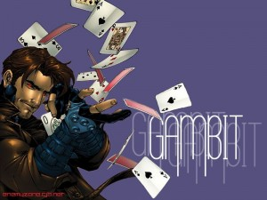 Gambit Drops His Cards