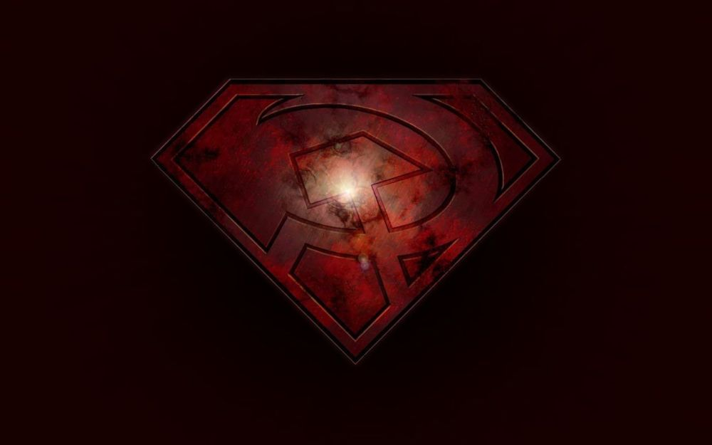 Superman red son logo zoom comics daily comic book wallpapers superman red son logo voltagebd Choice Image