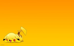 Tired Pikachu