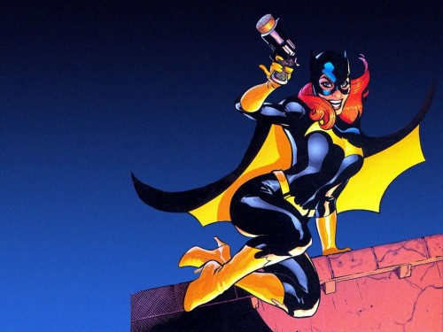 batgirl is really harley in disguise