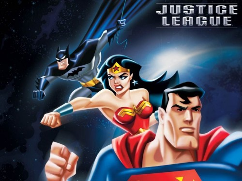 Cartoon Justice League