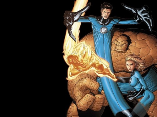 Fantastic Four – mean looking