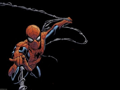 Spider-man Shootin You With Web
