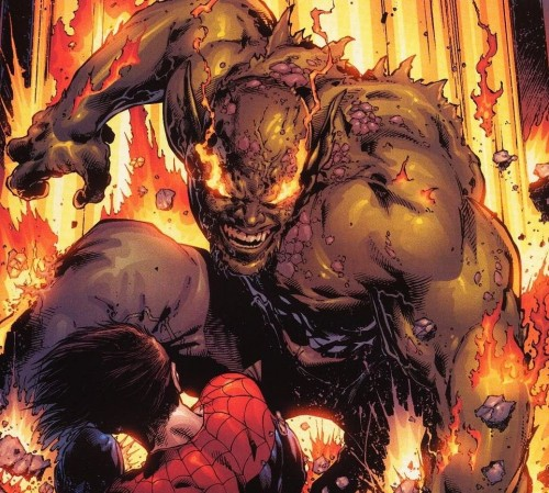Ultimate Green Goblin Vs Spider-Man