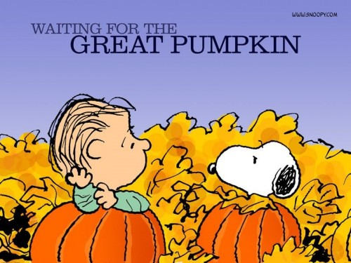 Image result for waiting for the great pumpkin