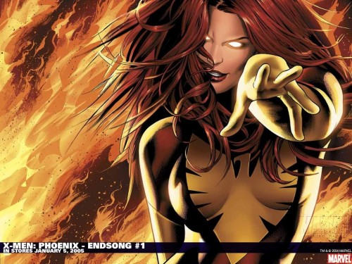 Wallpaper – X-Men Phoenix – Endsong 1