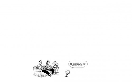 Calvin – parenting is screwing him up