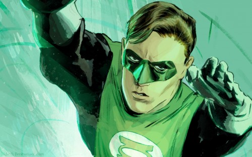 Green Lantern – Hal Jordan In Flight