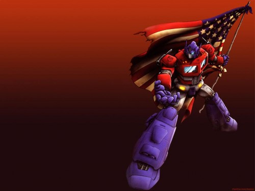 Optimus Prime – American Flag
