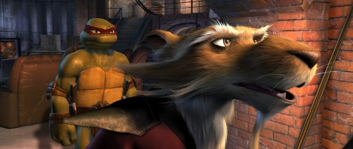 TMNT – ralf and splinter