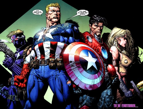 avengers – it's time to save the world