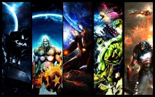 marvel super heroes