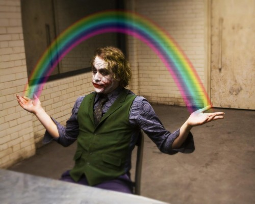 the joker – rainbows
