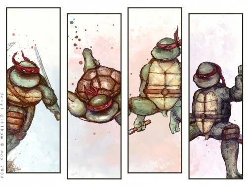 tmnt – four more panels