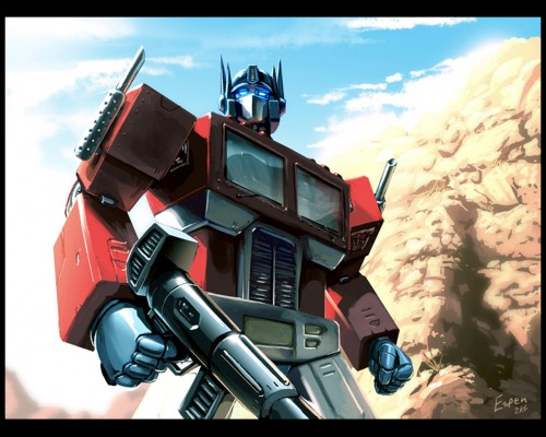 transformers – wallpaper – optimus