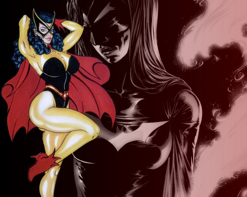 batwoman then and now