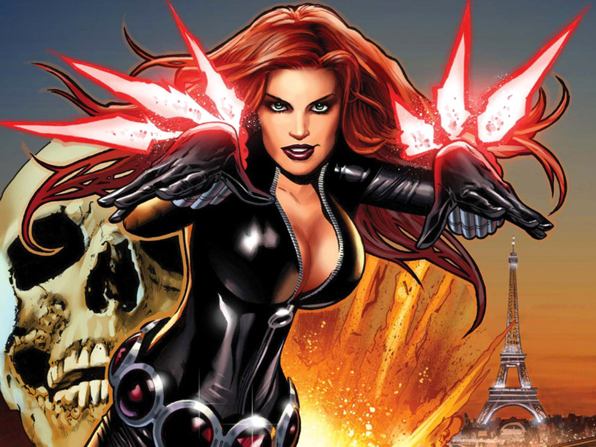 The List: Top 10 Marvel Superheroines | HeroMachine Character