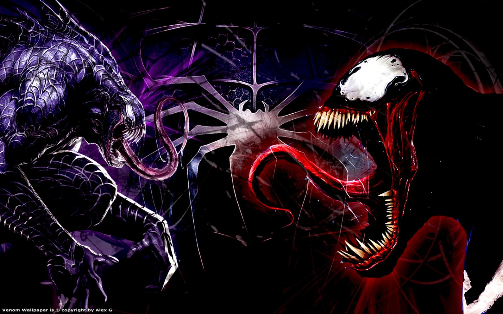 Venom And Carnage Zoom Comics Daily Comic Book Wallpapers
