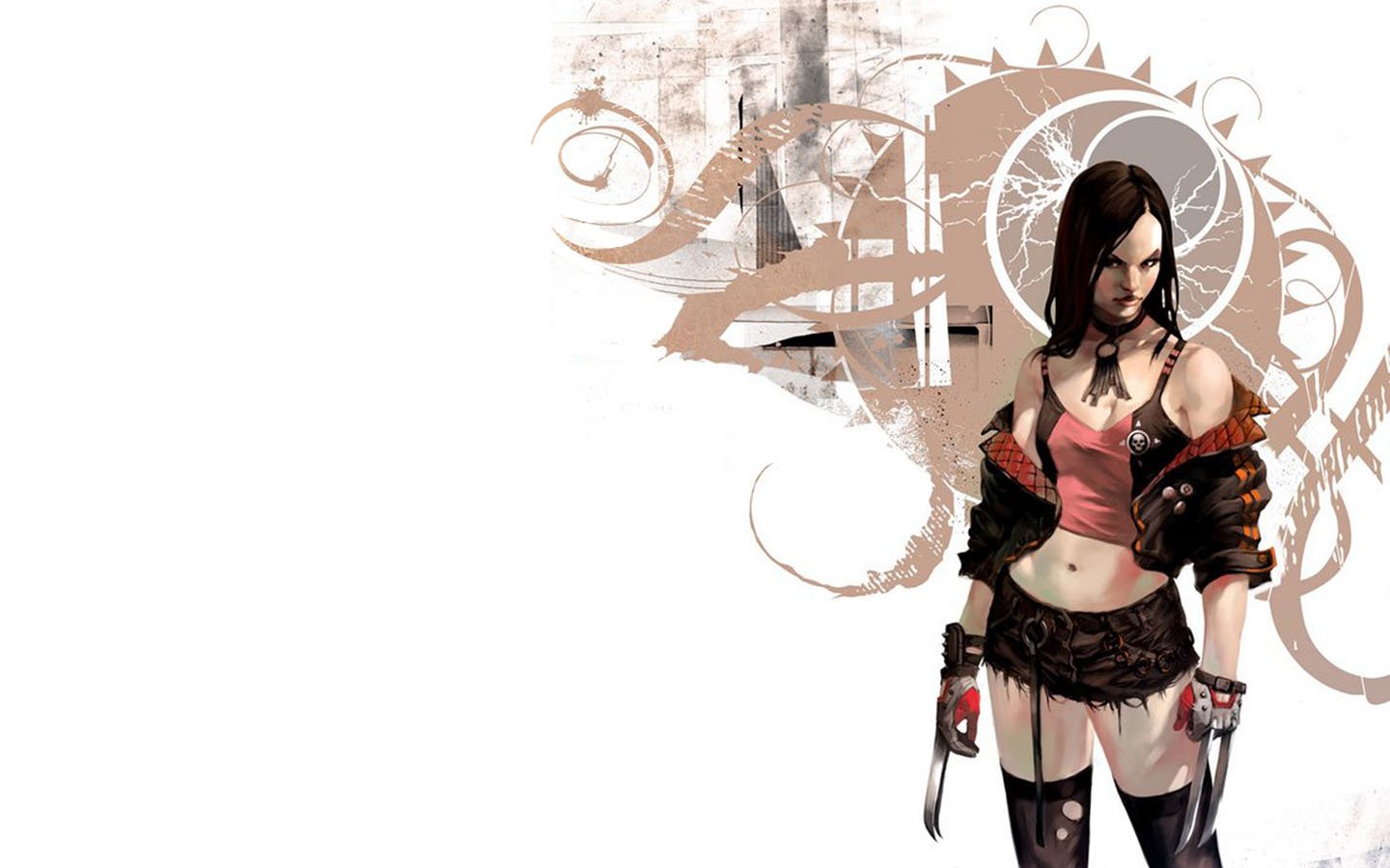 x-23 X 23 Cosplay Wallpaper