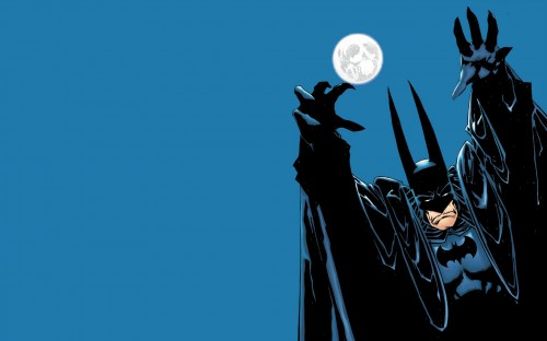 batman – skull moon