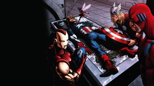 captain america being revived