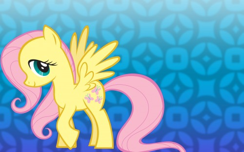 fluttershy is very shy