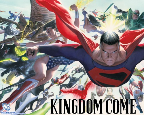 kingdom come – all the heroes