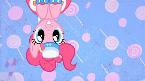 pinkie pie on the roof