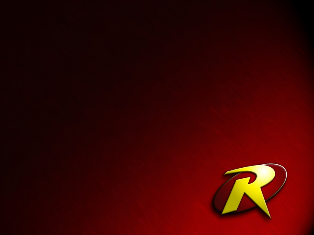 robin logo in red | Zoom Comics - Daily Comic Book Wallpapers