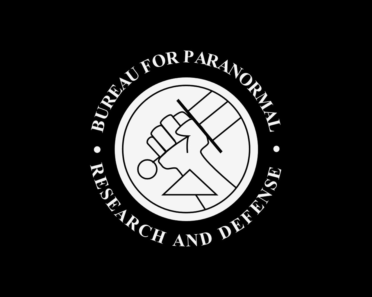 bureau for paranormal research and defense logo