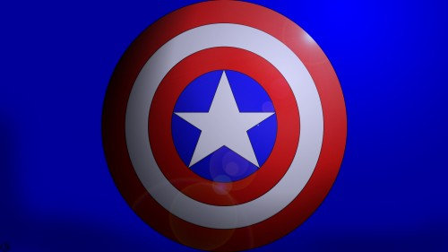 captain america shield logo
