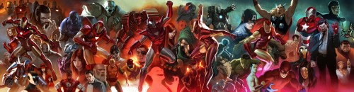 iron man and friends
