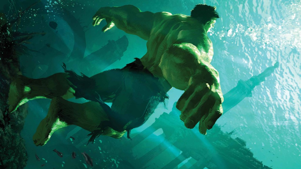 the hulk underwater