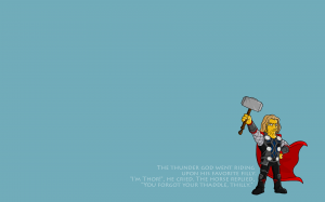 Simpsons Thor
