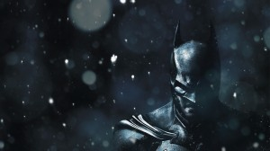 batman in the snow