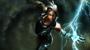 storm has powerful hands