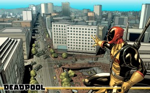 deadpool is with the x-men
