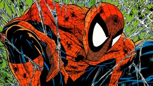 Spider-man number one closeup