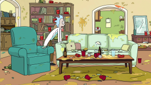 After Rick and Morty's Party