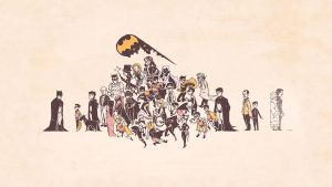 batman and his extended family