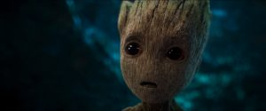 baby groot has pretty eyes