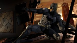 batman is cell shaded