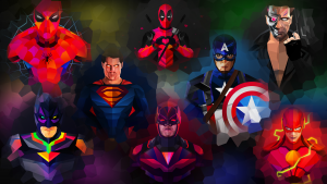 super hero wallpaper