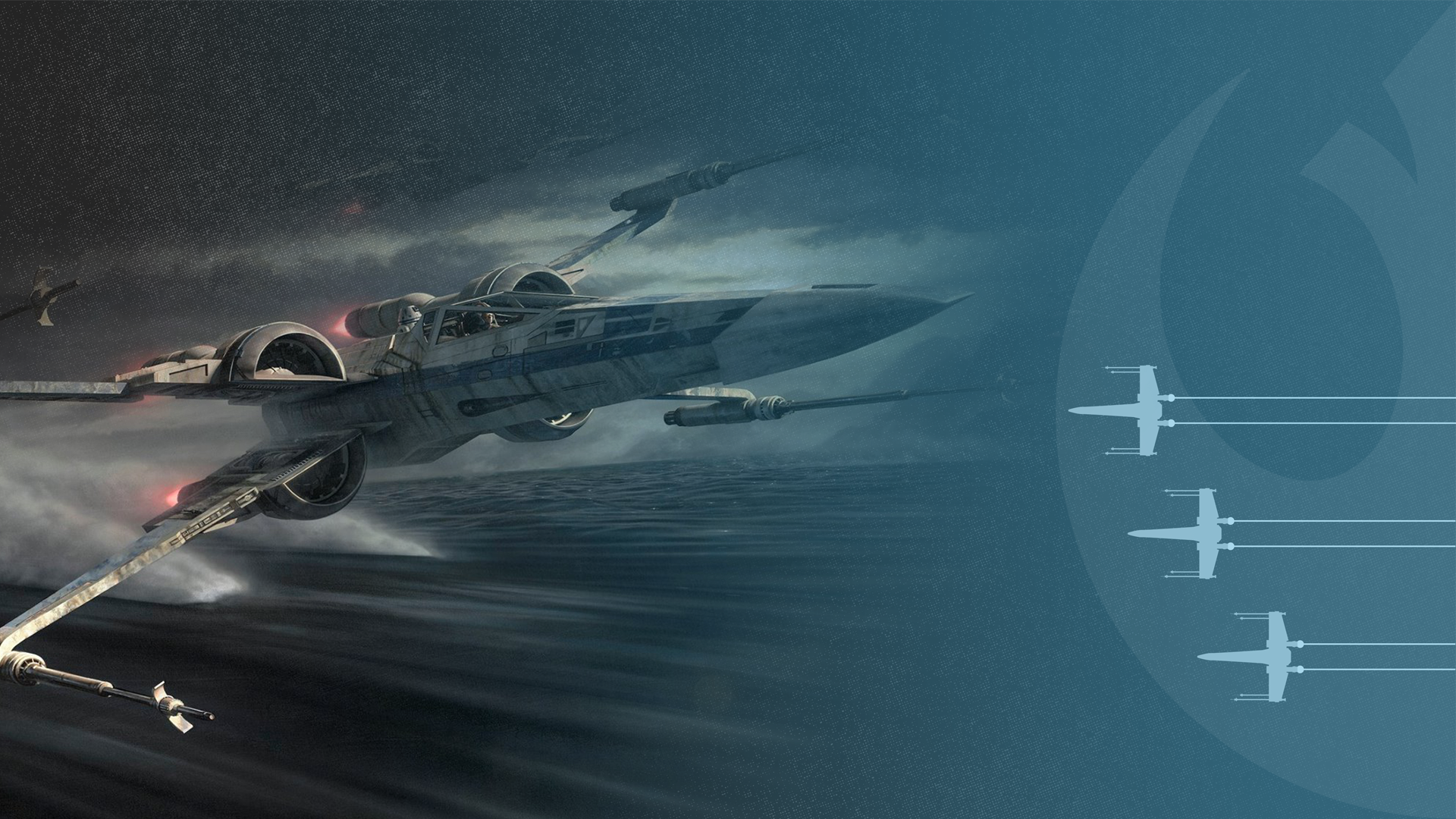 X Wing In Blue Zoom Comics Daily Comic Book Wallpapers
