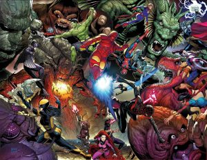 MONSTERS UNLEASHED BY MCNIVEN VINYL POSTER