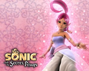 Shahra from Sonic and the Secret Rings